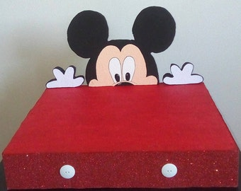Mickey Mouse Cupcake Holder.