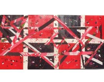 Flashy, Acrylic on canvas, paint, modern art, judaica