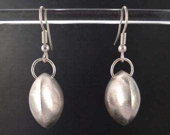 Convex 925 Silver earrings