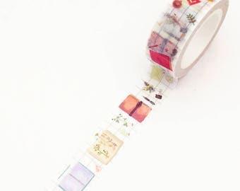 Traveler's Washi Tape - Stationery (1 pc) Japanese Stationery Masking Tape Deco Tape