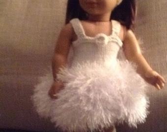 """Ballerina tutu for 18"""" doll"""