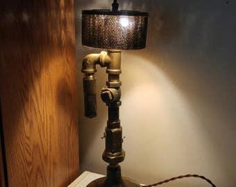 Table lamp, Machine age Lamp