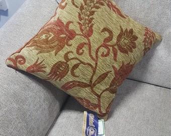 """Floral Cushion 16x16"""""""