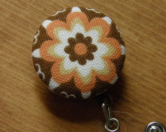 Flower Badge Reels, ID holders