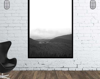 Beautiful nature scenery. mountains. Instant download