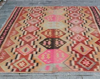 Vintage kilim rug Etsy