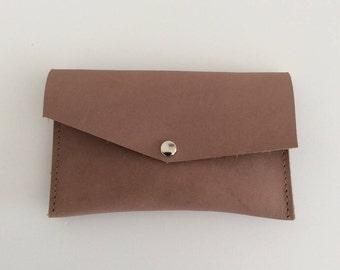 Mini wallet beige