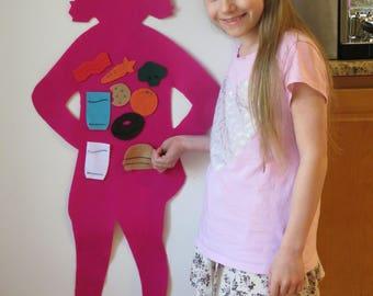 Body Buddy Girl - Pink