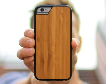 Bamboo iPhone Case with Airo Shock Protection by Mous Limitless - for iPhone 7, 6S, 6 and iPhone 7 Plus, 6S Plus, 6 Plus