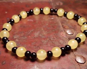 Hufflepuff Stone Bracelet
