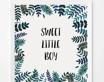 Sweet Little Boy * customizable text