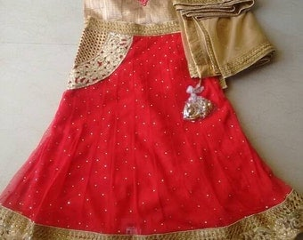 Kids lehanga, kids dress