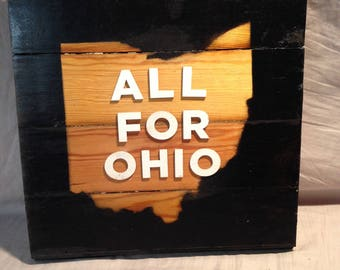 All for Ohio Wall Art