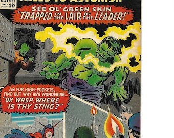 Tales to Astonish   Sub-Mariner and The Incredible Hulk Issue #71   1965 Marvel Comics