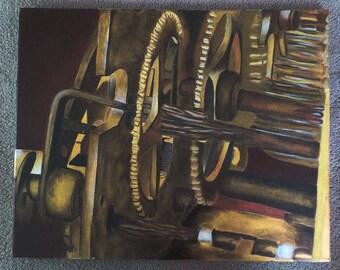Golden Gears - original piece