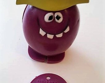 Pillsbury Collectible Goofy Grape pull toy