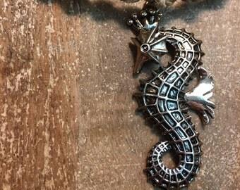 Custom Dragon Rope Hemp Necklace