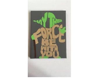 Star Wars Yoda Canvas