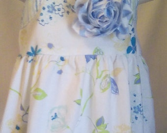 Girls Dress, Size 12 Months, Summer Dress, Sun Dress, Ready to ship