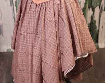 Size S/M Mademoiselle Pink Crescent Skirt