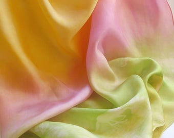 "Horse Playsilk: Fairy Ponies Motif Silk (35"" Square Silk Scarf)"