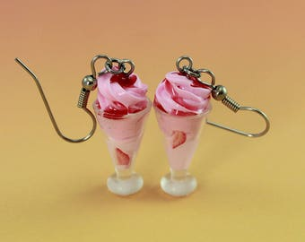 Tutti-Frutti Milkshake Earrings