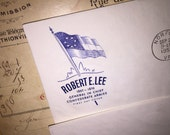 1955 Robert E Lee First Day Cover Envelope