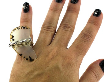 A Touch of Animal Ring that Rocks size 5