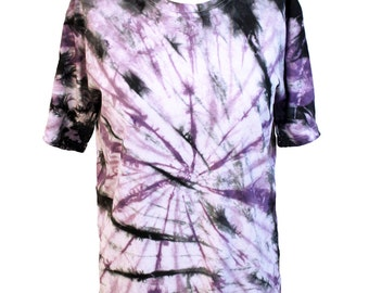 All Twisted Up tie die T shirt in Purple | Unisex | Men