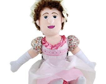 Jane Austen Plush Doll