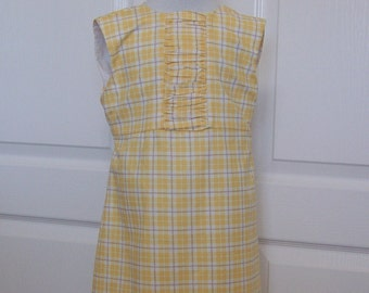 50% Off Girls Clothing Dresses Yellow Sleeveless A Line Dress Yellow White Easter Dress Size 6