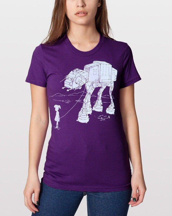 Women's graphic tee My Star Wars AT-AT Pet, gift for mom, gift for sister, gift for daughter, women fashion tshirt, funny shirt