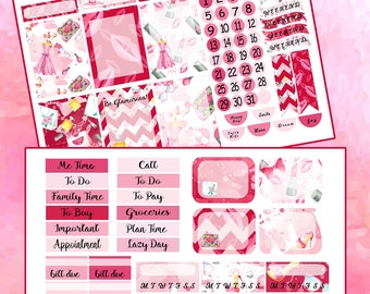Pink and Posh Glam Planner Stickers~