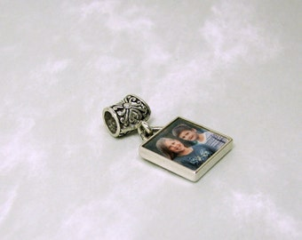 Sterling Picture Frame Charm