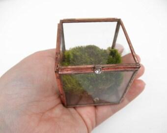 Glass Treasure Box - Ring Box - Flat Glass