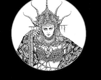 Witch Sorceress Queen  t-shirt