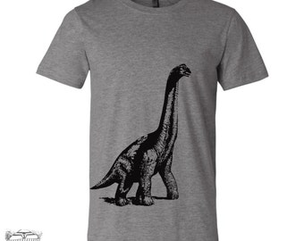 Mens DINOSAUR Vintage Soft T-Shirt  s m l xl xxl (+ Color Options) Zen Threads