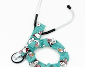 Stethoscope Cover, Stethoscope Accessories, Nursing Student, Nurse, Doctor, Medical Instruments, Nurses, First Aid Kitty and Mice