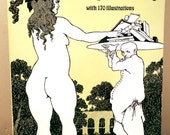 Best Works of Aubrey Beardsley-170 b/w Illustrations-Collection of Popular Modern Graphic Art/Sensual,Provocative Figures-1990 SC Dover Pub