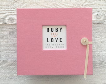 Solid Baby Pink | BABY BOOK