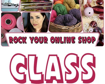 Rock Your Online Shop Class by Jennibellie