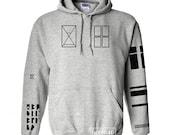 Joseph Tattoo Hoodies Sweatshirt Sewater Jumper Pullover Grey Shirt