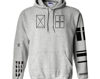 Joseph Tattoo Hoodies Sweatshirt Sweater Jumper Pullover Grey Shirt