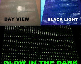ON SALE!! Glow in the Dark 1050 Stars!  Cover your ceiling with Stars - Brightest Pigment on the market