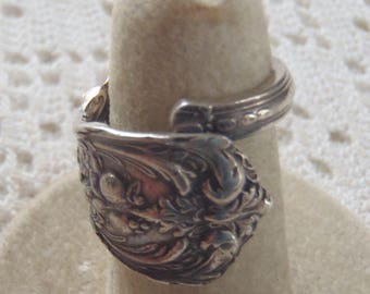 Vintage Spoon Ring Reed and Barton  Sterling Silver Francis I