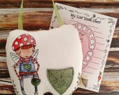Tooth fairy pillow, tooth pillow, personalized pillow, custom tooth fairy pillow, tooth pillow for boys, boy tooth fairy pillow
