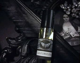 La Fortuna  Gypsy Alchemy Natural Perfume Oil 1/3 oz roll on Apricot,Grapefruit, Osmanthus, Hay, Vanilla,Orris,Vetiver