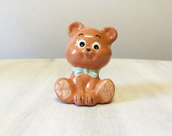 Teddy Bear, china bear figurine, china teddy bear, teddy bear figure, vintage figurine, teddy bear ornament, vintage teddy bear, china bear