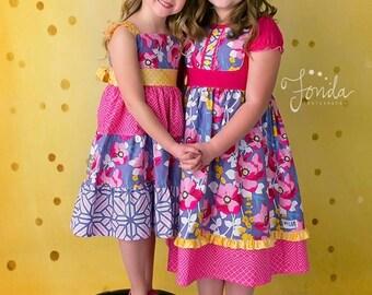 Blossom M2M Melon Monkeys spring dresses