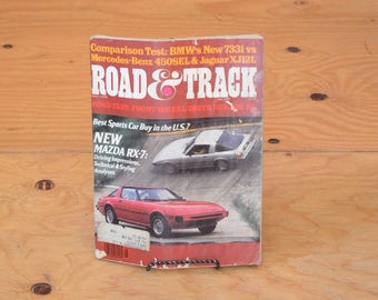 Vintage 1978 Road & Track, Classic Collector Car Magazines